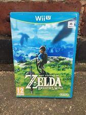 Zelda Breath of the Wild vide PROMO Case Box Wii U Affichage Collectionneurs