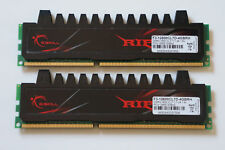 4GB G.SKILL Ripjaws Series DDR3 Memory PC3-12800 1600MHz C7 (F3-12800CL7D-4GBRH)
