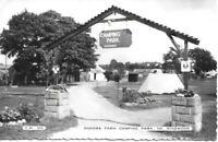 Shamba Farm Camping Park - nr. Ringwood - Hampshire Real Photo Postcard (250)