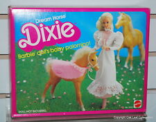 Barbie Dream Horse DIXIE Baby Palomino Foal NRFB Mint! Original owner collection