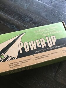 Power Up Electric Paper Airplane Conversion Kit Excellent condition