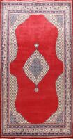 Excellent Vintage Geometric Botemir Area Rug Hand-knotted Oriental 9'x13' Carpet