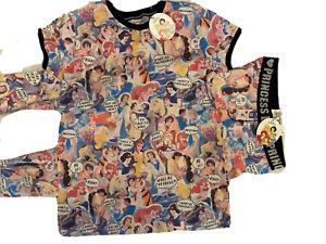 Primark Disney Princess Pyjama Set UK 6-8 BNWT