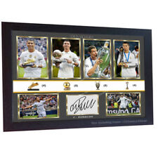 dd4de30df76    New Cristiano Ronaldo Real Madrid signed autograph print photo picture  Framed