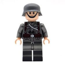 Soldat Allemand guerre mondiale WW2 style Lego militaire army armée + fusil
