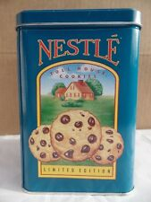 Blue Nestle Toll House Cookies Morsels Tin Limited Edition
