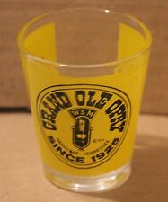 Grand Ole Opry, Shot Glass, Nashville Tennessee, Copyrighted 1975