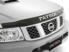 New Genuine Nissan Patrol Y61 GU Smoked Tinted Front Bonnet Protector