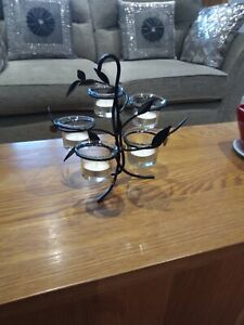 Yankee Candle 5 Tea Light Carousel Black Metal Would Look Great In Any Room