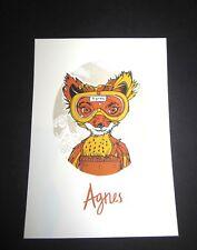 Tyler Stout Fantastic Mr. Fox Agnes Handbill Mondo artist Wes Anderson