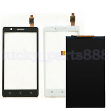 For Lenovo A536 Touch Screen Digitizer Glass + LCD Display Free Shipping B/ W