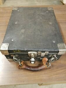 Vintage payphone coin collection carring case.