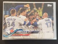 2018 Topps Baseball Toronto Blue Jays Series 1 and 2 complete Team Set 21 cards