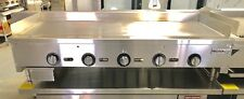 """NEW 60"""" Griddle Thermostatic Flat Grill Thermostat Temperature Control Gas"""