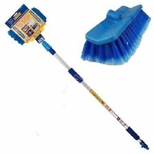 Telescopic Car Wash Brush Extendable 2m Water Fed Cleaning Windows Boats Van