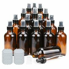 Small Glass Bottles Amber Glass Bottles 4 oz Glass Spray Bottles Amber Glass ULG