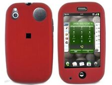 Red Snap On Hard Plastic Phone Protector Cover Case For Palm Pre