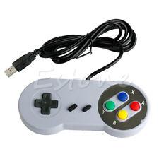 Wired USB SNES Controller Retro Gaming Joypad Joystick Gamepad For Nintendo UK