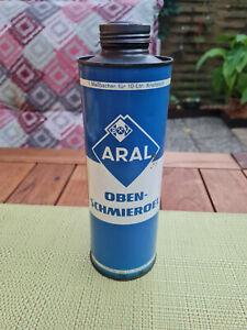 Alte Blechdose von ARAL BV  Obenschmieröl