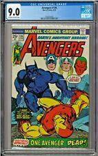 Avengers #136 CGC 9.0 OW/W Beast app