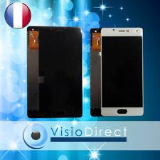 """Ecran complet pour Wiko UFeel U-Feel 5"""" blanc noir vitre tactile + écran LCD"""