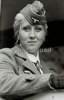 WW2 Picture Photo Pretty Military German Women 3408