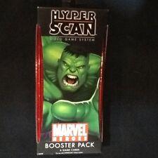 NEW MARVEL HEROES HYPER SCAN BOOSTER PACK 6 CARD SET