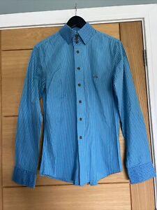 vivienne westwood Mens Striped Long Sleeve Shirt Size II.....