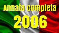 2006  ANNATA COMPLETA N° 77 TESSERE FILATELICHE INTROVABILI