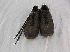 Men 8M Medium ROCKPORT XCS Casual Fashion Sneakers Shoes Brown Leather Lace Up