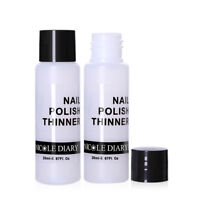 NICOLE DIARY 20ml Nail Polish Thinner Stamping Varnish  Nail Art Tool