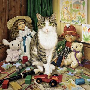 Jigsaw puzzle Animal Cat named Pollyanna 1000 pc NIB
