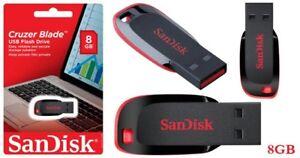 SanDisk 8GB/16GB/32GB /64GB Cruzer Blade USB Flash Pen Drive Memory Strick-UK