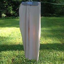 J.H. collectibles woman size 16 W dress pants beige pre owned not worn