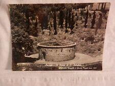 Vecchia foto cartolina d epoca di Orvieto posso S Patrizio vista su campagna da