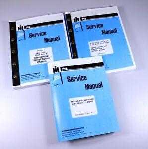 INTERNATIONAL 2400A 2400B 2500A 2500B DIESEL WHEEL TRACTOR SERVICE MANUAL REPAIR