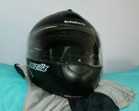 Schuberth Revzilla Flat Black Motorcycle Helmet C3 Size 61 XL 7 5/8 K0705-A707