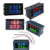 """0.36"""" DC 0-100V 10A Dual LED Display Digital Voltmeter Ammeter Voltage AMP Power"""