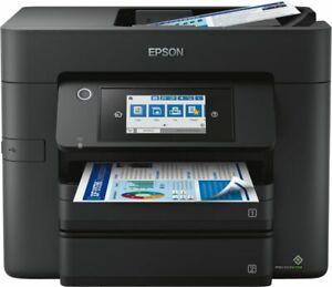 Epson Multifunktionsdrucker Drucker WorkForce Pro WF-4830DTWF Schwarz NEU WOW