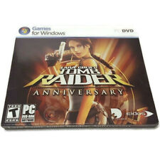 Lara Croft Tomb Ra 00006000 ider Anniversary Pc Dvd-Rom Game New Sealed 2007 Cosmi Eidos