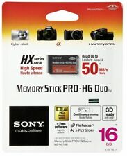 Genuine Sony 16gb Memory Stick Pro-HG Duo, 50MB/s, Retail Pack
