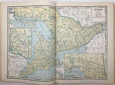 Pictorial Atlas of the World - 1937 - Color Maps, Original, Vintage,