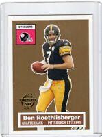 2005 TOPPS FOOTBALL INSERT CARD # 11/22 - BEN ROETHILISBERGER - STEELERS