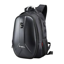 Large Capacity Waterproof Laptop Backpack Hard Shell Storage Pack  +USB Charging