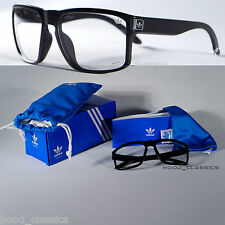 adidas Men Spectacles Clear Lens Square Frame Vintage Retro Fashion Geek Glasses