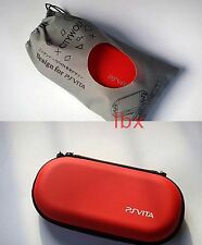 Fashion RED HARD CASE COVER BAG POUCH FOR Sony Playstation PS Vita PSV