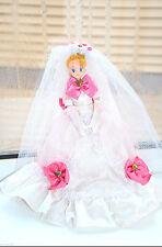 Sailor Moon Usagi Bride Wedding Dress Doll 11 inch Bandai Japan vintage