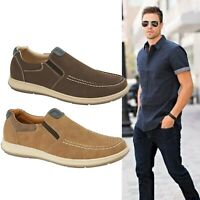 Mens WENTWORTH Slip On Casual Boat Deck Mocassin Designer Loafers Shoes Size