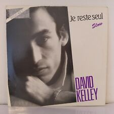 "David Kelley – Je Reste Seul (Vinyl, 12"", Maxi 45 tours)"