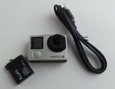 GoPro Hero 4 Silver Edition Camcorder CHDHY-401 With Touch Screen Read #voKe2